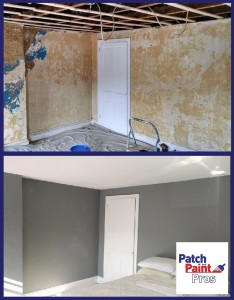 Ceiling Drywall Installation Before and After Conshohocken 2015-11-02 09.52.38 w logo