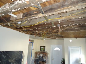 Conshohocken Water Damage Repair Before