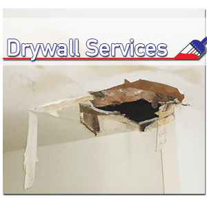 Water Damage Repair - Drywall Ceiling