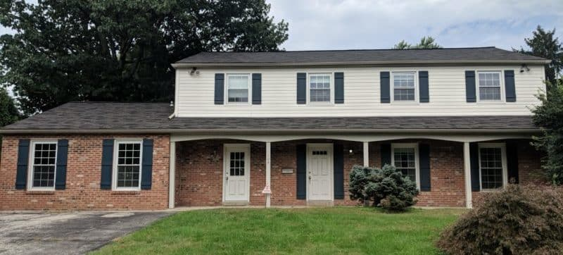 Exterior Painting - Siding and Shutters
