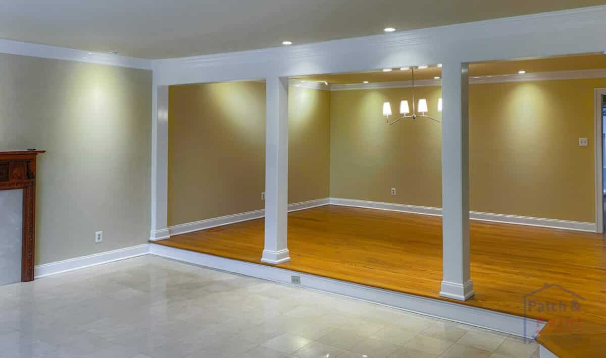 Living and Dining Room Painting - Whitemarsh Township